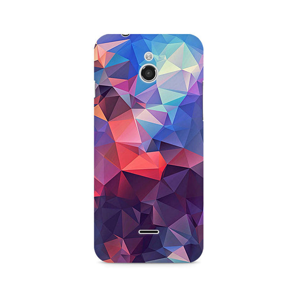 Ek Number Abstract Fusion Triangle Premium Printed Case For InFocus M2