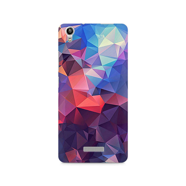 Ek Number Abstract Fusion Triangle Premium Printed Case For Lava Pixel V1