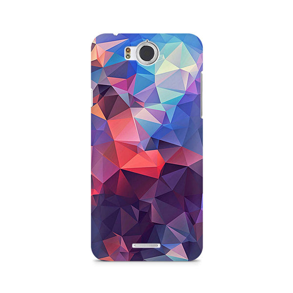 Ek Number Abstract Fusion Triangle Premium Printed Case For InFocus M530