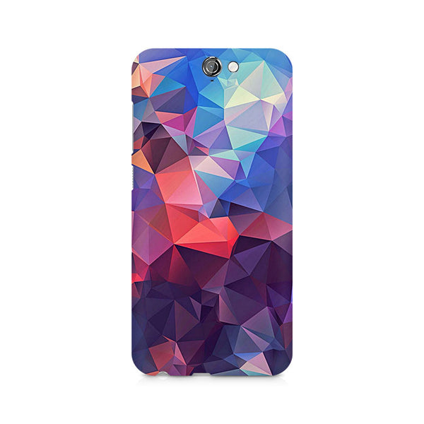 Ek Number Abstract Fusion Triangle Premium Printed Case For HTC One A9