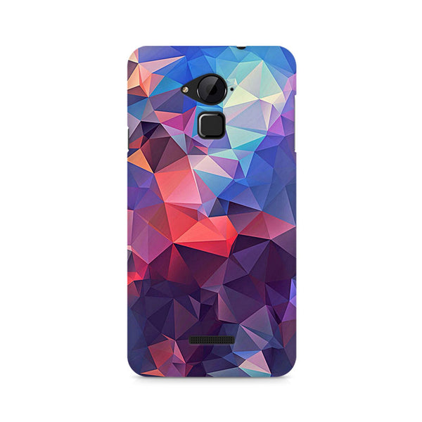 Ek Number Abstract Fusion Triangle Premium Printed Case For Coolpad Note 3