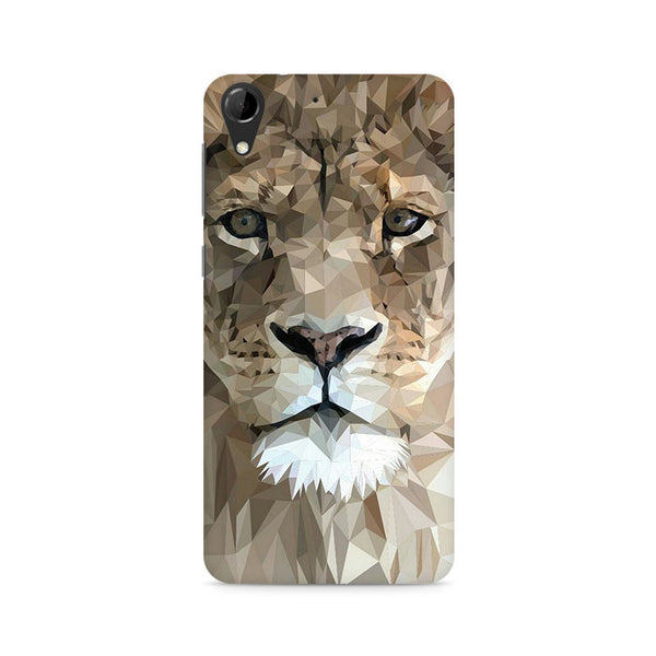 Ek Number Abstract Lion Premium Printed Case For HTC Desire 728
