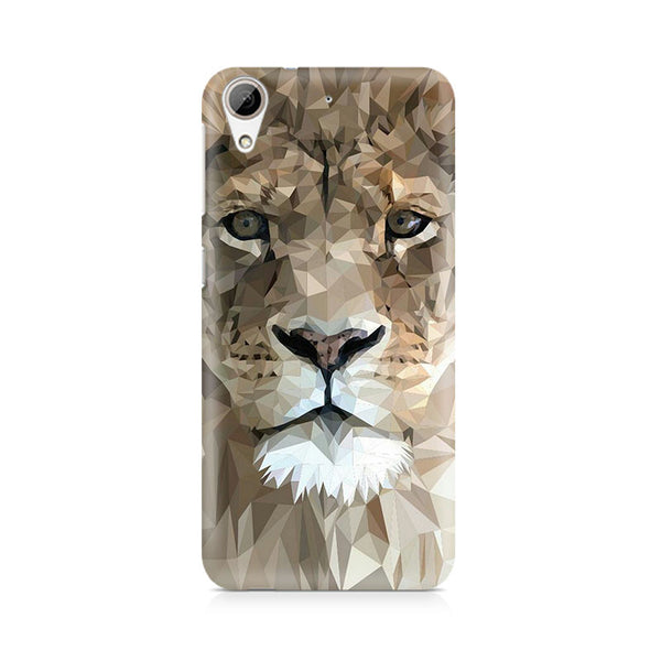 Ek Number Abstract Lion Premium Printed Case For HTC 626