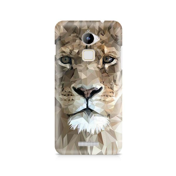 Ek Number Abstract Lion Premium Printed Case For Coolpad Note 3 Lite