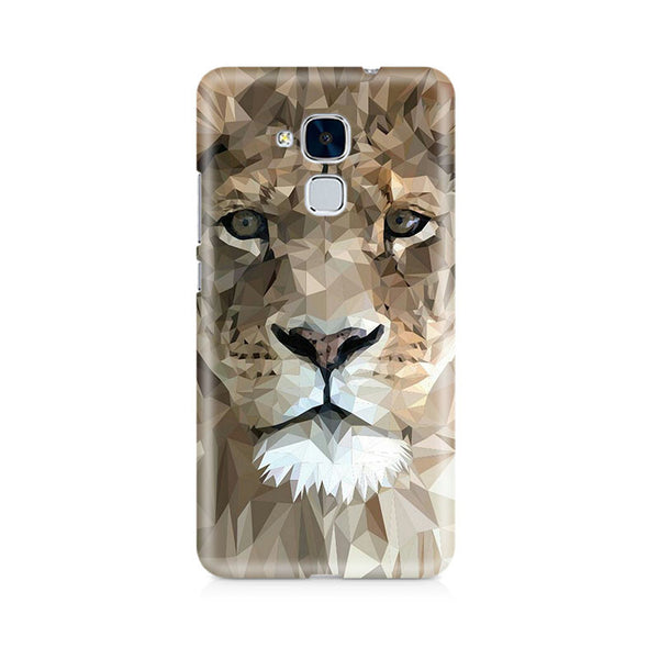 Ek Number Abstract Lion Premium Printed Case For Huawei Honor 5c