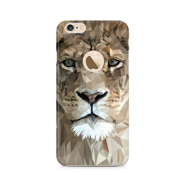 Ek Number Abstract Lion Premium Printed Case For Apple iPhone 6/6s with hole