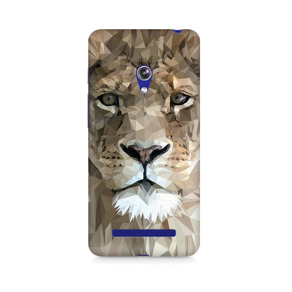 Ek Number Abstract Lion Premium Printed Case For Asus Zenfone 5