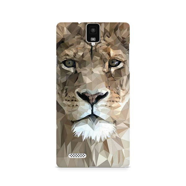 Ek Number Abstract Lion Premium Printed Case For InFocus M330