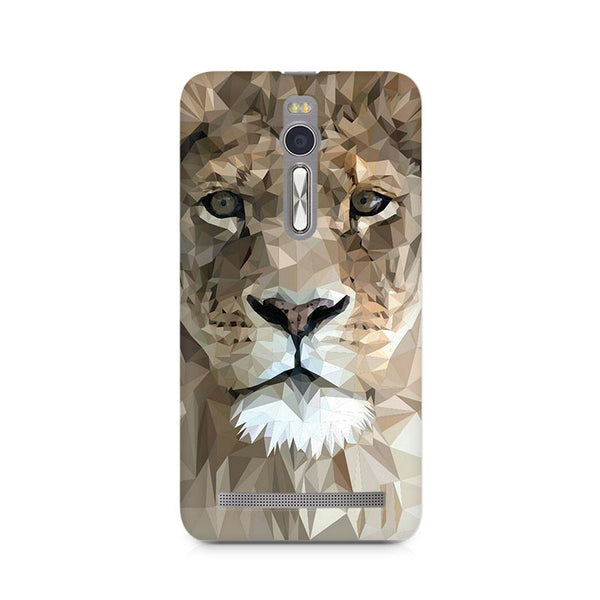 Ek Number Abstract Lion Premium Printed Case For Asus Zenfone 2
