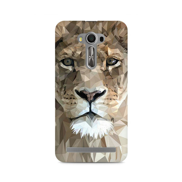 Ek Number Abstract Lion Premium Printed Case For Asus Zenfone Selfie
