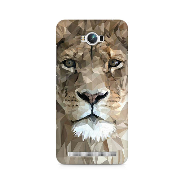 Ek Number Abstract Lion Premium Printed Case For Asus Zenfone Max