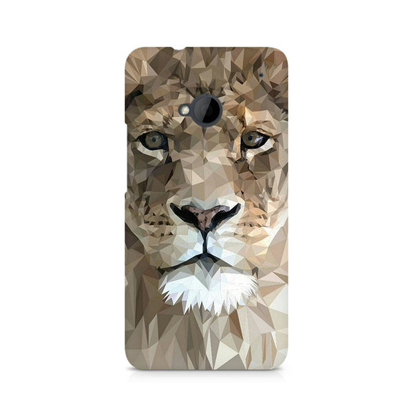 Ek Number Abstract Lion Premium Printed Case For HTC One M7