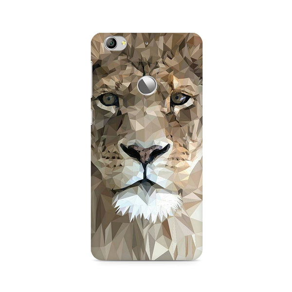 Ek Number Abstract Lion Premium Printed Case For LeEco Le 1S