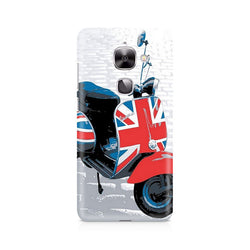 Ek Number Vespa from UK Premium Printed Case For LeEco Le 2