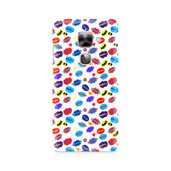 Ek Number All Superheroes on white clipart Premium Printed Case For LeEco Le 2