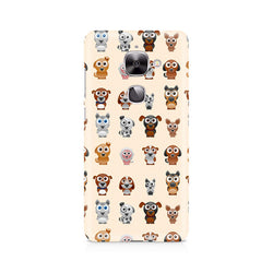 Ek Number Big Eyes Dog Premium Printed Case For LeEco Le 2