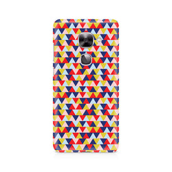 Ek Number Geometric Fusion Premium Printed Case For LeEco Le 2