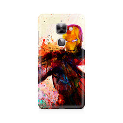 Ek Number Iron Man Premium Printed Case For LeEco Le 2