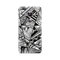 Ek Number Black and White Abstrct Premium Printed Case For LeEco Le 2