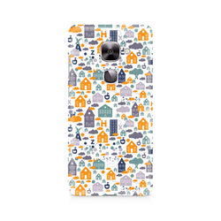 Ek Number Casute Premium Printed Case For LeEco Le 2
