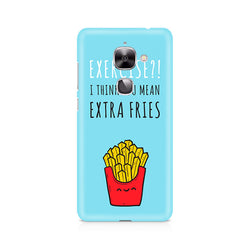 Ek Number Extra fries Premium Printed Case For LeEco Le 2