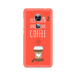 Ek Number Keep Calm and have Cofee Premium Printed Case For LeEco Le 2