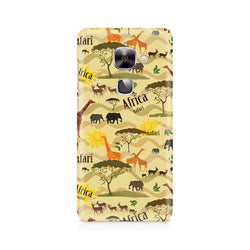 Ek Number African Safari Premium Printed Case For LeEco Le 2