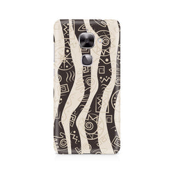 Ek Number Abstract Tribal Wave Premium Printed Case For LeEco Le 2