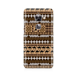 Ek Number Brown Camel Premium Printed Case For LeEco Le 2