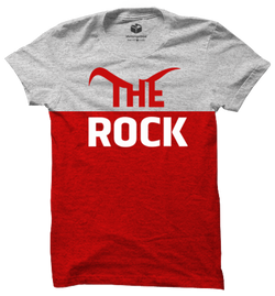 The Rock WWE Panel T-Shirt
