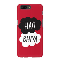 Hao Bhiya Indori Phone Case Cover for OnePlus 5