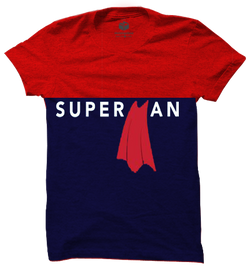 Superman Minimal Panel T-Shirt