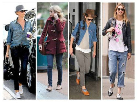 Oxfords for Women - Street Styles
