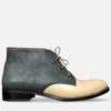 Women's Chukka Boots Beige Leather by Julia Bo