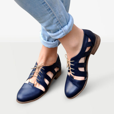 Nassau - Cutout Oxfords