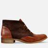 womens chukka boots brown leather