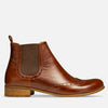 chelsea boots women brown leather by Julia Bo