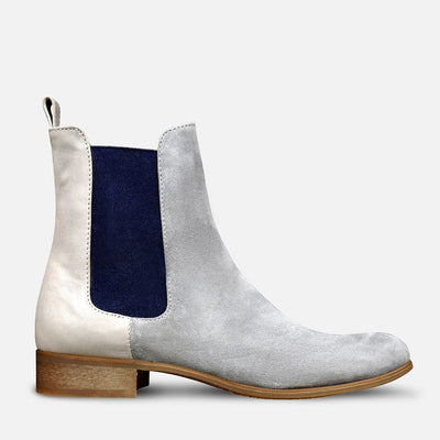 Grey Chelsea Boots Womens by Julia Bo