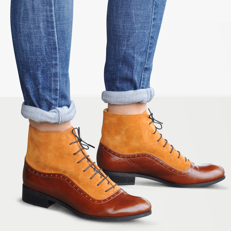 oxford boots for women