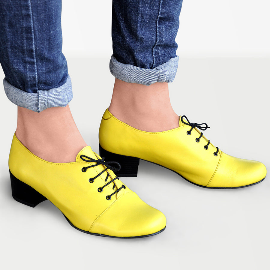 Yellow Shoes for Women by Julia Bo