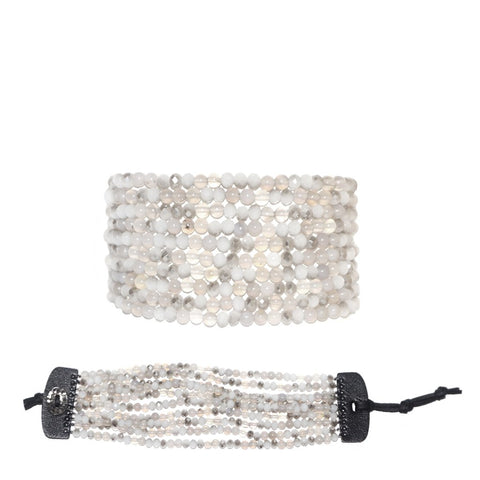 Stone Beaded Bracelet by Marlyn Schiff