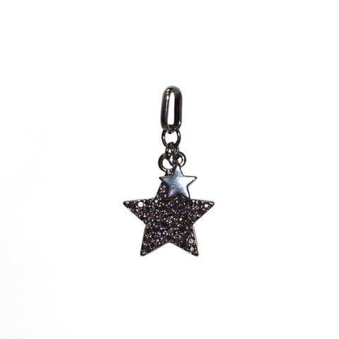 Mini Double Star Charm by Marlyn Schiff