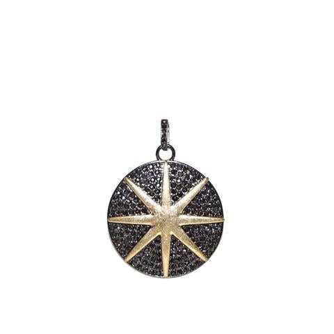 Pave Starburst Charm by Marlyn Schiff
