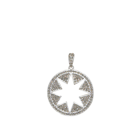 Pave Open Starburst Charm by Marlyn Schiff