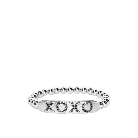 XOXO Stretch Bracelet by Marlyn Schiff
