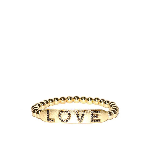 LOVE Stretch Bracelet by Marlyn Schiff