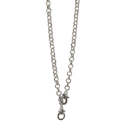 Double Clasp Interchangeable Charm Necklace by Marlyn Schiff
