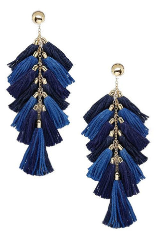 Time To Tassel by Ettika (Blue)