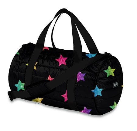 Multi Star Puffer Duffle Bag