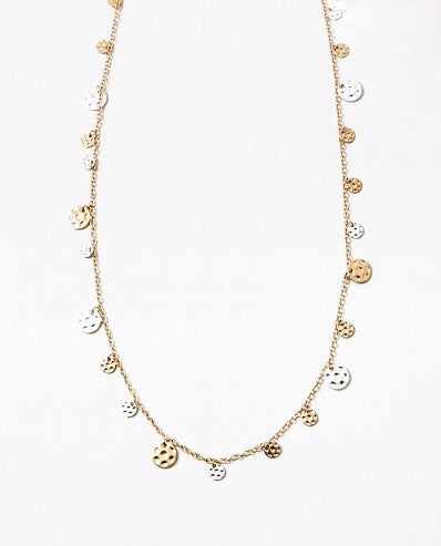 Petite Coin Long Necklace